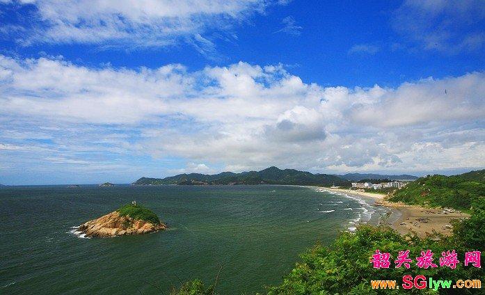 """浪漫海岛之""""上川岛""""飞沙滩 二天团"""