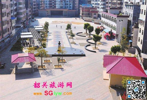 韶关新丰县南门塘2017春节游园活动