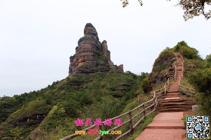 丹霞山巴寨风景区