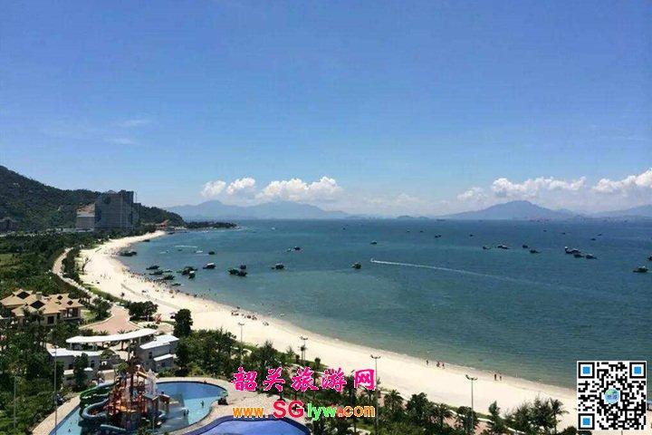 惠州黄金海岸、巽寮湾纯玩汽车二日游