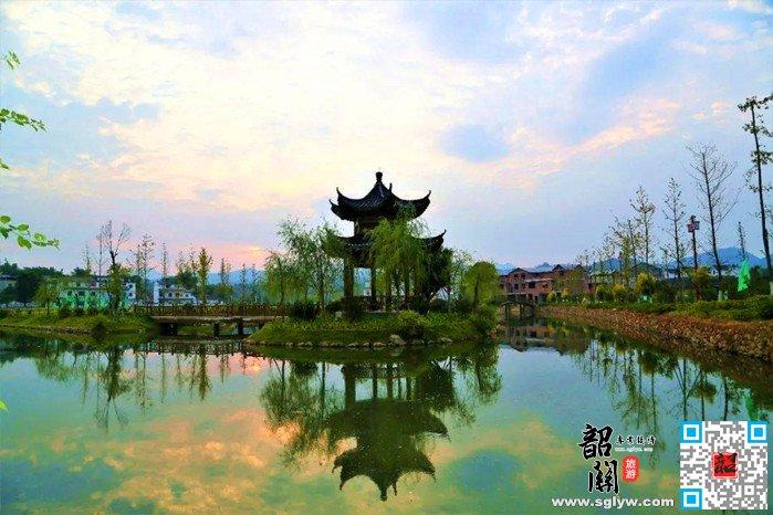 南雄灵潭村